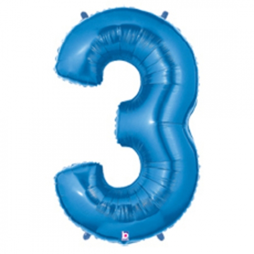 3 Blue Megaloon Three