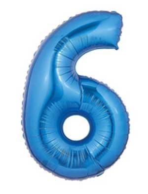 6 Blue Megaloon Six