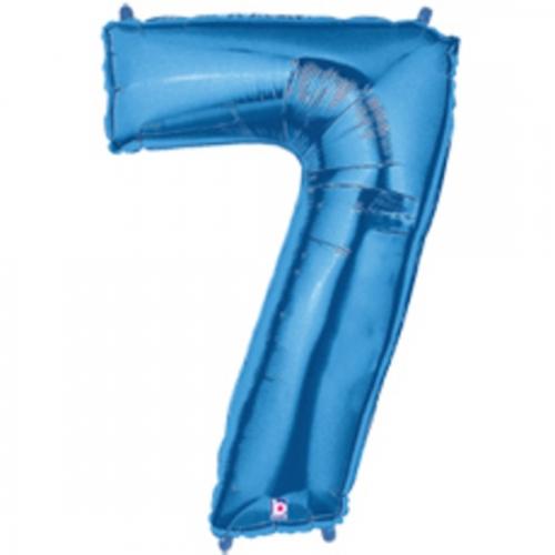 7 Blue Megaloon Seven