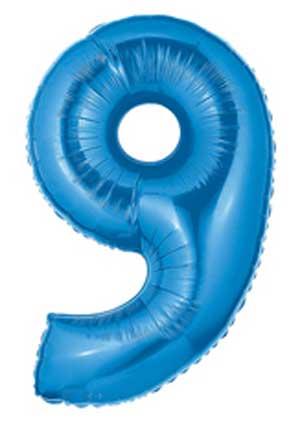9 Blue Megaloon Nine