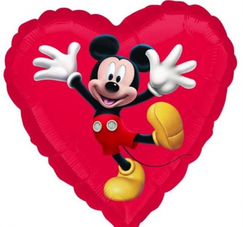 Mickey Mouse Heart