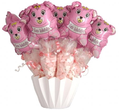 Baby Balloon & Candy Cornets Girl