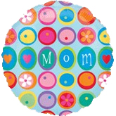 Mom dots and flowers