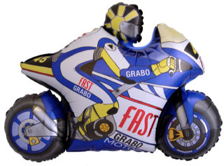 Motor Blauw SH
