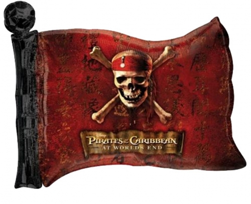 Pirates of the Caribbean vlag