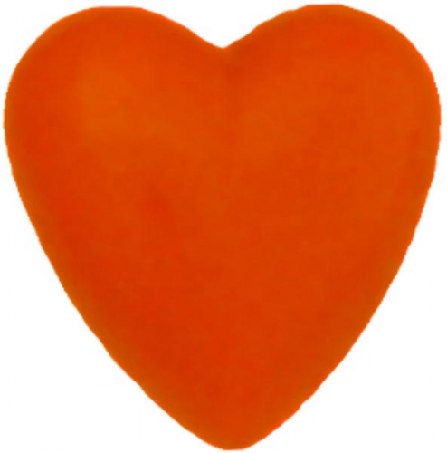 Power hart Broche Oranje