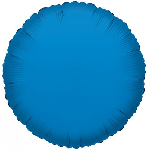 Rond Radiant Blauw