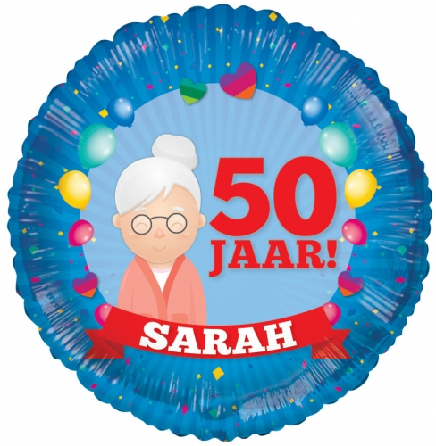 50 jaar - Sarah