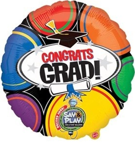 Congrats Grad, Say & Play