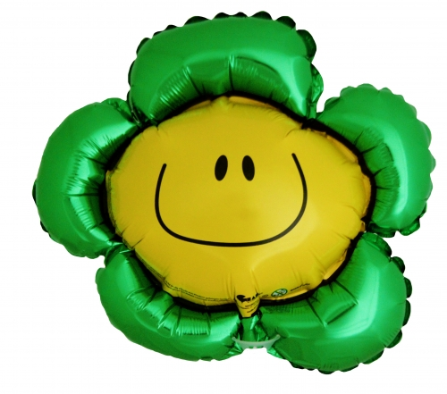Smiley flower groen SH