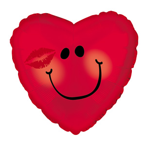 Smiley Heart Kissy