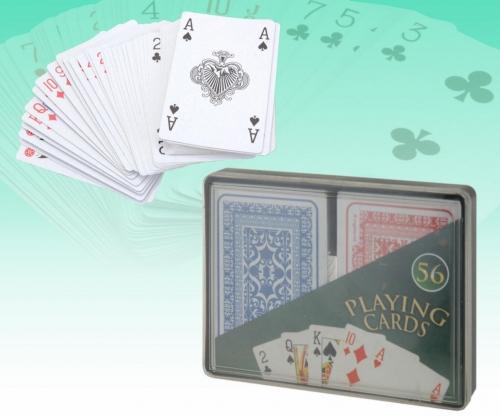 Speelkaartenset  2 delig