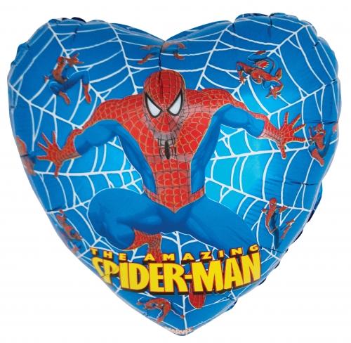 Spiderman Blauw