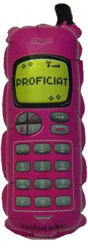 Telefoon Proficiat Roze MC