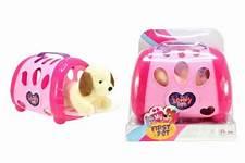 Hond in roze tas