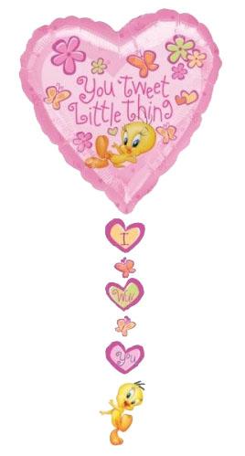 Ballon Drop-a-line Tweet Little Thing