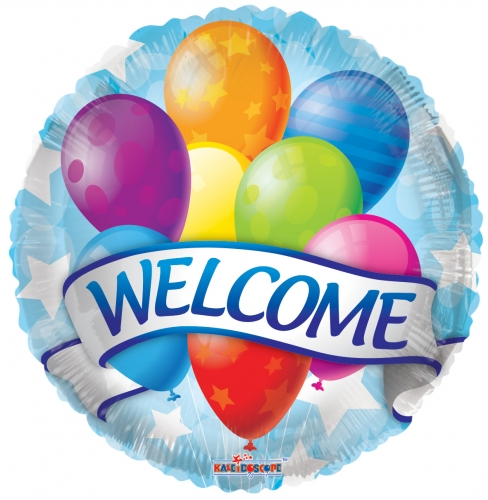 Welcome Banner & Balloons