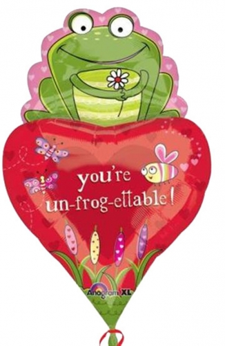 You\'re un-frog-ettable