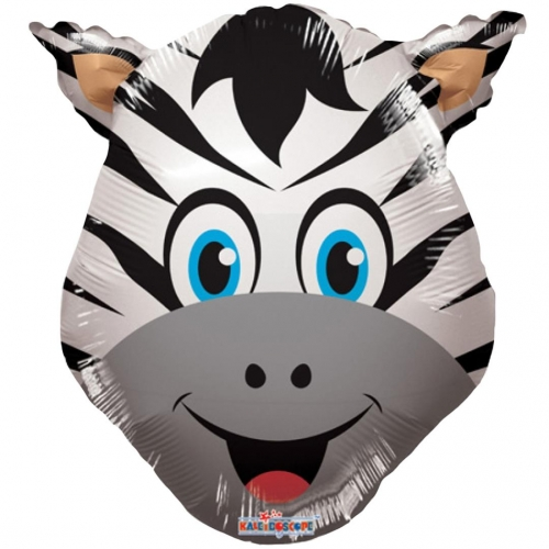 Animal Zebra Head