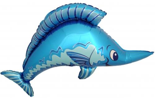 Zwaardvis blauw