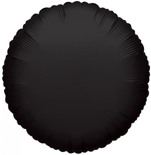 Rond Zwart/Zwart