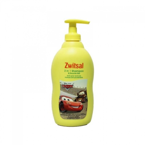 Zwitsal 2 in 1 shampoo en douche gel Cars