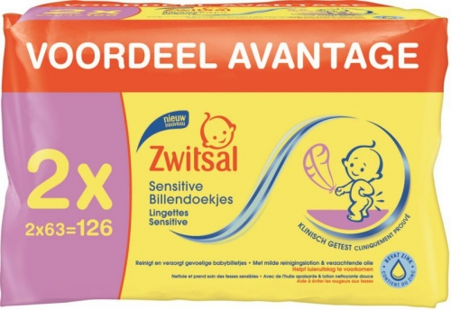 Zwitsal Sensitive Billendoekjes